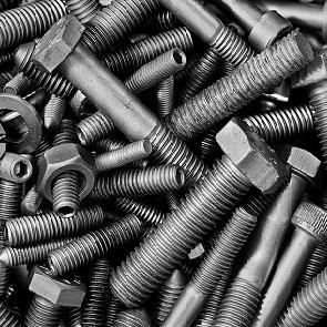 Picture of nuts and bolts